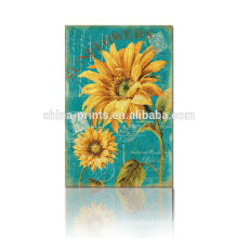 2015 Lastest Sunflower Painting On Canvas For Living Room For Holiday Gift Wholesale