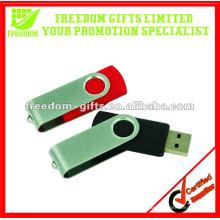 4GB popular giratória USB Flash Drive