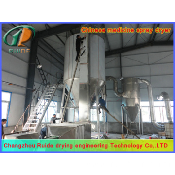 Edible perfume spray drying tower