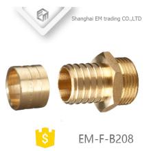 EM-F-B208 Latão de rosca que reduz o encaixe de tubulação pex da união