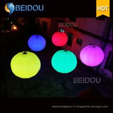 Grand ballon publicitaire gonflable à dirigeable dirigé par hélicoptère à LED Helium RC