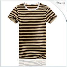 OEM hombres de verano de algodón corto Blusa Sexy Hombre Tees Slim Hombre T-Shirt