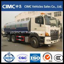 Camión de agua Hino 6X4, Camión de riego por agua, Camión cisterna de agua