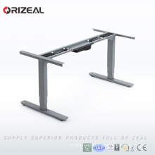 Top quality metal office desk height adjustable computer desk simple style 5 years warranty