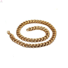 Simple men gold necklace female,chunky chain link necklace