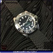 Yxl-030 logotipo personalizado relógios Perlon Strap 3ATM resistente à água de quartzo relógio promocional Fashion New Design Men relógios fábrica