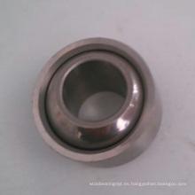 Cojinete esférico liso que lleva el material compuesto PTFE inoxidable Sgeg20c