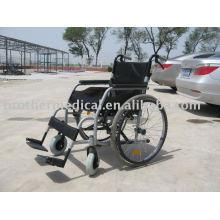 Cadeira de alumínio de design novo de forma oval em forma de mais popular cor cinza claro