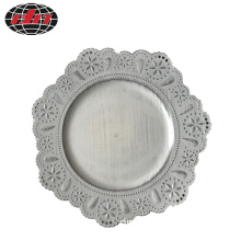 Lace  Antique Plastic Charger Plate