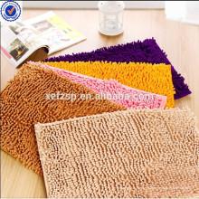 Tapis de plancher d'entrée lavable de chenille usine de tapis de tapis