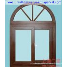 customized thermal break aluminium doors of anodized ,shandong company