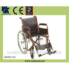 BDWC102 the cheapest lightweight portable hospital wheelchair for sale