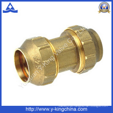 Latão de alta qualidade espanhol / encaixe de tubulação de compressão (YD-6043)