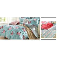 Juego de cama impreso al por mayor 100% algodón F1739