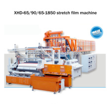 automatic 1500 mm three layer pallet stretch film machinery