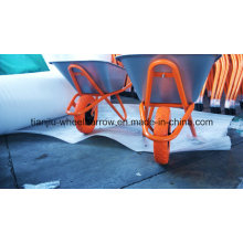 Russia Model Heavy Duty Galvanized Wheel Barrow (Wb6418)