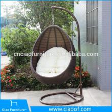 Meubles accrochants de patio de prix d'usine, siège d'oscillation de meubles de jardin