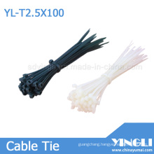 Nylon Cable Tie with RoHS Approval (2.5X100mm)
