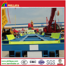 Factory Supply Terminal Container Trailer (PLYBRD500)