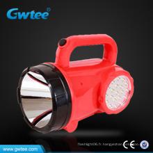 Projecteur led à distance puissant rechargeable avec éclairage latéral