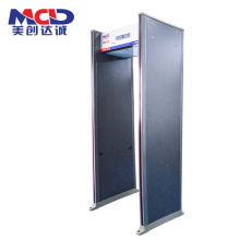 Tela de 6 polegadas por atacado de tela LED Walk Through Body Scanner para um shopping MCD600