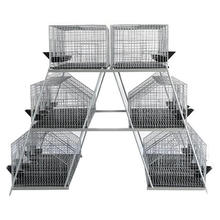 High Quality Three and Four Layers Rabbit Cage for Sale(factory) Welded Mesh Galvanized Iron Wire,galvanized Iron Wire Cheap