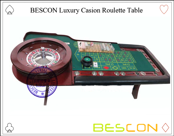 BESCON Luxury Casion Roulette Table-2
