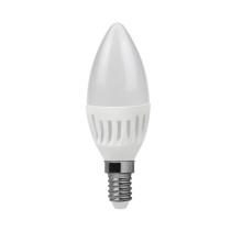 Alto Lumen LED cerámica vela lámparas C30 600lm de 7W E14 2835SMD