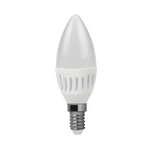 High Lumen LED Ceramic Candle Lamps C30 E14 2835SMD 7W 600lm