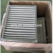 O sistema de ventilação G4 filtro de ar de eficiência primária