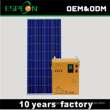 Emergency household indoor solar powered generators