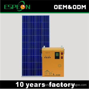Emergency household indoor solar powered generators