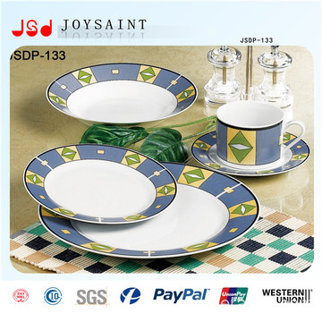 Wholesale Custom OEM Porcelain Disposable Bulk Dinner Plates China ...