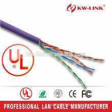 Solid UTP4 LSZH CAT5E CCA Cable 1000FT