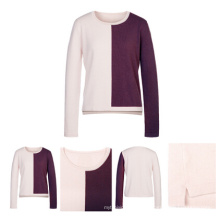 Color Faded Adult Cashmere Sweater