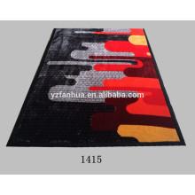 Flores de poliéster colores moda moderna impresión Raschel visón mantas