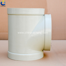 China for Plastic PP Three Pass PP ventilation accessories three way export to Portugal Supplier