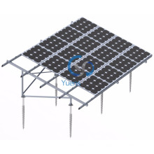 Solar PV Ground Screw Mounting System for Solar Power Project