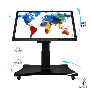55 Panel de pantalla plana barato con soporte automático