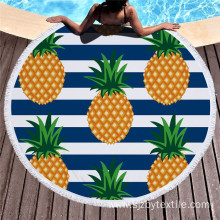 Leading for China Manufacturer of Round Beach Towel,Round Towel,Roundie Beach Towel,Circle Beach Towel Reactive Print Large Round Microfiber Beach Towel export to Cambodia Factory