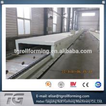 Neue Technologie Color Stone beschichtete Dachziegel 1335 * 420 * 0.4mm Herstellung Maschine