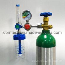 Universal Medical Oxygen Float-Type Regulators with Flowmeters