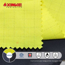 yellow modacrylic/cotton antistatic fr fabric