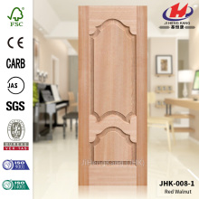 3.2MM MDF Natural Red Walnut Door Skin