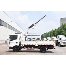 Hot Sale for Truck Mounted Mobile Crane 1 ton crane truck truck mounted crane export to Sao Tome and Principe Suppliers