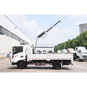 Free sample for for Truck Mounted Mobile Crane 1 ton crane truck truck mounted crane export to Senegal Suppliers