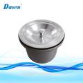 MXQ stainless steel single bowl Bar Sink Strainer Drain Head Stopper & Fliter Basket