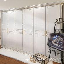 Noble White Golden Platinum Combo Wardrobe (OP-YG11101)