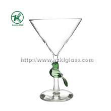 Verre à champagne simple en verre par SGS, BV (DIA 12 * 18)