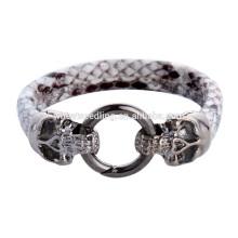 2015 New design skull heads punk stingray bracelet